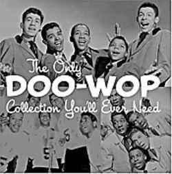 Tight harmonies and good grooming tell us we're in doo-wop land.