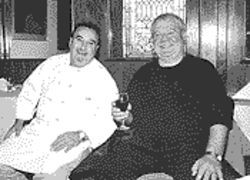 Chef Giovanni De Simone and owner Vincenzo Vivolo.