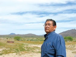 San Lucy Chairman Albert Manuel remembers when a vast Gila Bend reservation was lush and full of life.