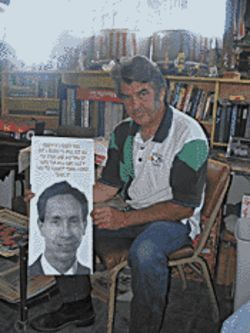 Eldorado, Texas, satirist Jim Runge hopes Warren Jeffs is captured soon.