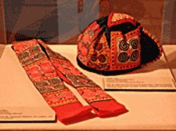 "Textiles provide history lessons at ASU's ""Stitches of War"" exhibit."