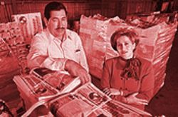 Manny Garcia and his wife Lety have built Prensa Hispana into the most powerful Spanish-language newspaper in the Valley.