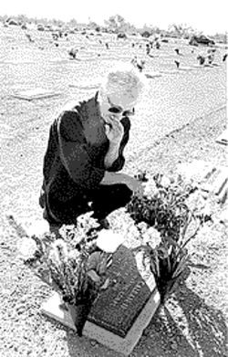 Jerri Glover visited her oldest child's grave in Cave Creek on November 10, the day before Veterans' Day.