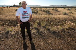 Bob West of Yakima is the leader of the anti-immigration group Grassroots of Yakima Valley.