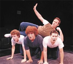 Krup you, Officer: The pretty hoodlums of Desert Stages' West Side Story.