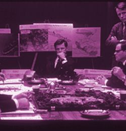 Meetings, meetings, meetings: The board-room setting of much of Thirteen Days doesn't interfere with the suspense and fascinating history.