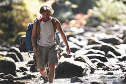 Boy wander: Emile Hirsch is looking for something in Into the Wild.