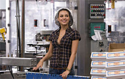 Mila Kunis plays a grifter with a temp gig.