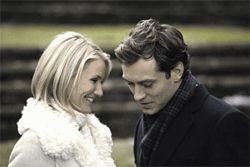 Smarter than your average romantic comedy: Cameron Diaz and Jude Law are mooning lovers in The Holiday.