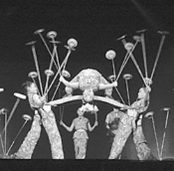 Bend it like China: The Peking Acrobats perform.