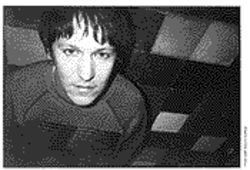Elliott Smith is shown here in a 1997 photo taken by Pete Krebs with the author&#039;s camera.