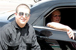 "Neo-Nazi ""Vito Lombardi"" with Sheriff Joe Arpaio"