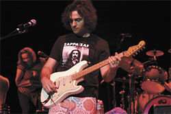Dweezil Zappa: Re-creating Frank.