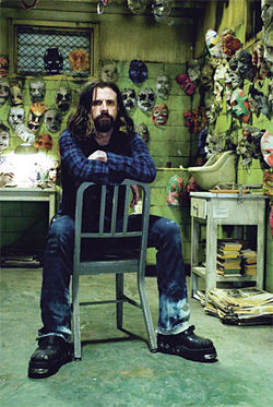 &quot;No. It?s not campy!&quot;: Rob Zombie is all about being seriously scary.